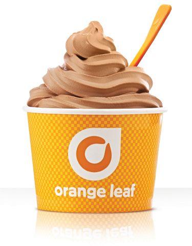 orange leaf frozen yogurt | Ghirardelli® and Orange Leaf Frozen Yogurt Team to Reward Chocolate ...