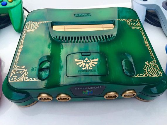 Custom Legend of Zelda N64