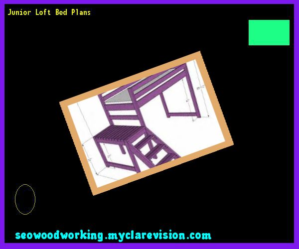 Junior Loft Bed Plans 214345 - Woodworking Plans and Projects!
