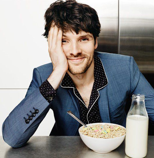 Colin Morgan 2016                                                                                                                                                     More
