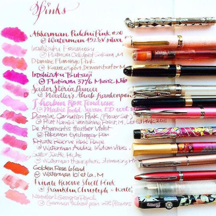 The 25 best fountain pens ideas on pinterest fountain Fountain pen calligraphy tutorial