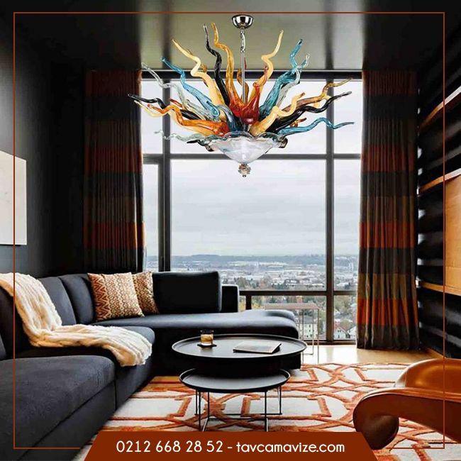 Sizinde istediğiniz renkte ve şekilde özel tasarım avizeniz olmasın mı ? 💫 www.tavcam.com #tavcam #avize #taydınlatma #renkliavize #özeltasarım