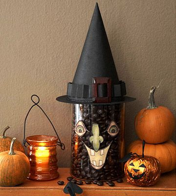 50 awesome halloween decorating ideas fireplace funny pumpkins - Creative Halloween Decorating Ideas