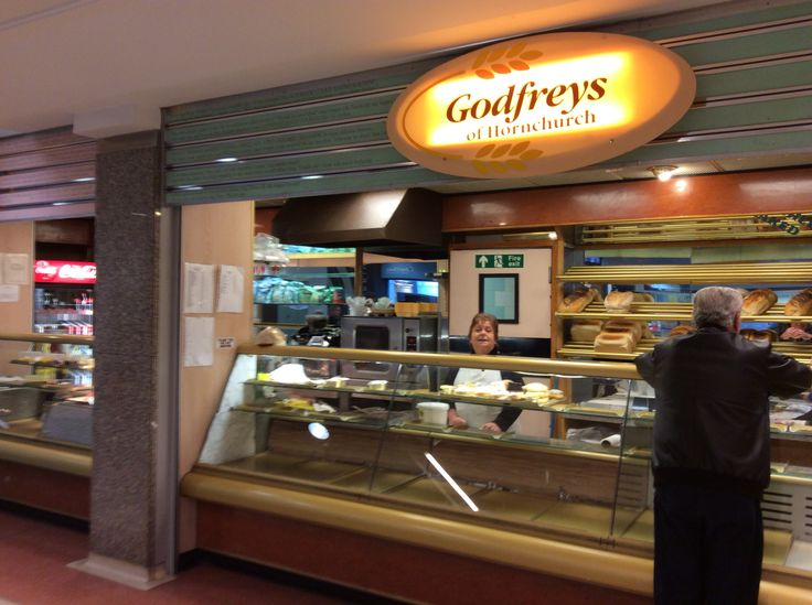 Godfreys: Independent bakers founded in Hornchurch...they can't be beaten for value when it comes to home-made cakes, some are only £1!