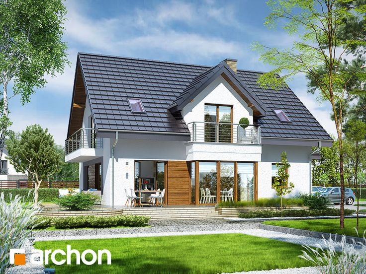 Dom w świetliku (G2N) - projekt domu ARCHON+