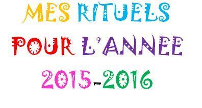 Mes rituels pour l'année 2015-2016 - Chez Val 10