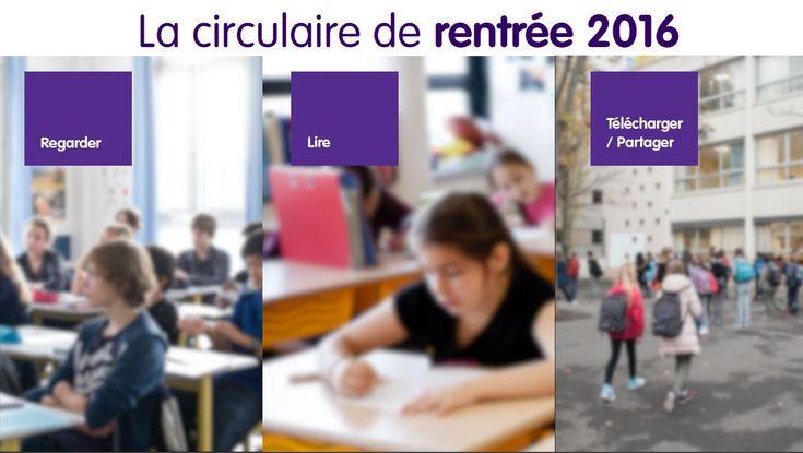 Actualités - Programmes et ressources pour la rentrée 2016 - Éduscol