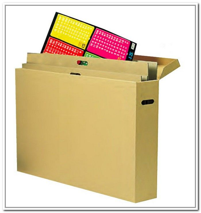 Poster Storage Box For Teachers