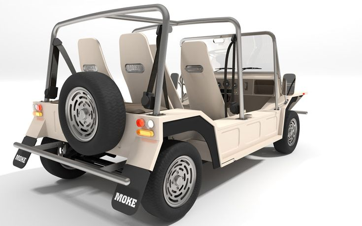 michael young re-designs moke for the 21st century