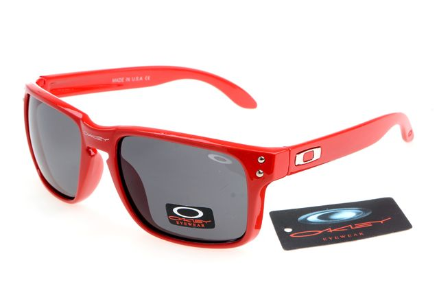 Oakley Radar Sunglasses Deep Red Frame Black Lens 1021 [ok-2046] - $12.50