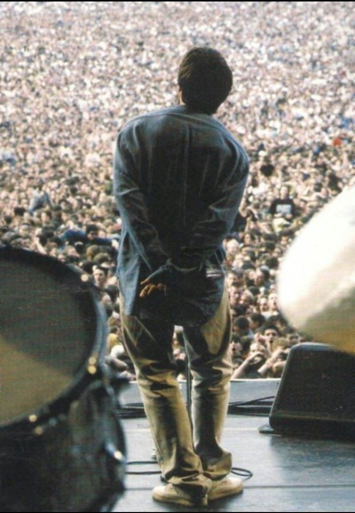 Liam Gallagher at Knebworth