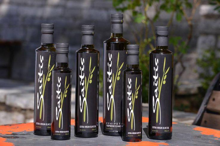 Ελαιόλαδο Saitis -  Με δύναμη από τη Στυλίδα www.gourmate.gr