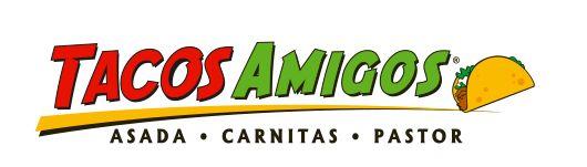 Tacos Amigos • Logotipo para Taqueria en Areas de comida en Aeropuertos de Guadalajara y Cancun. 2010® Diseño Carlos Escalante