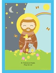 St. Francis... and many other free saint printables