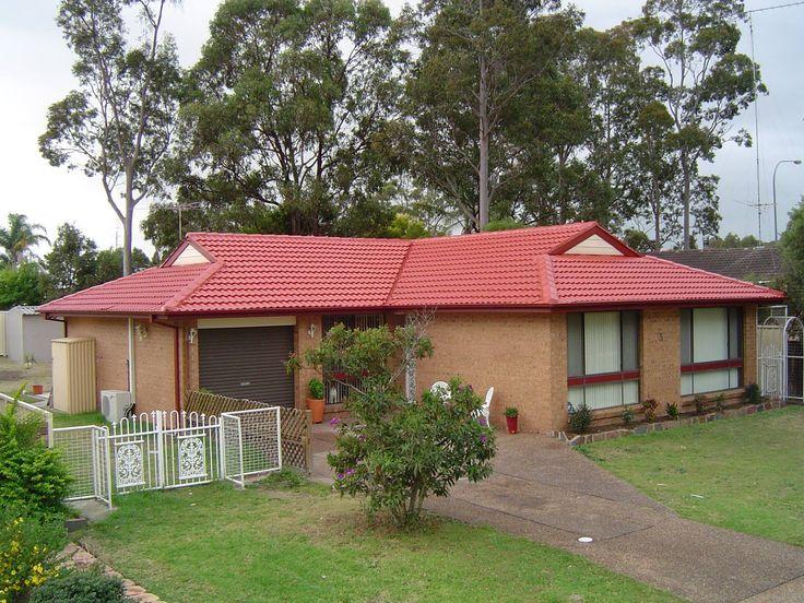 Tile Roof Restoration - Red