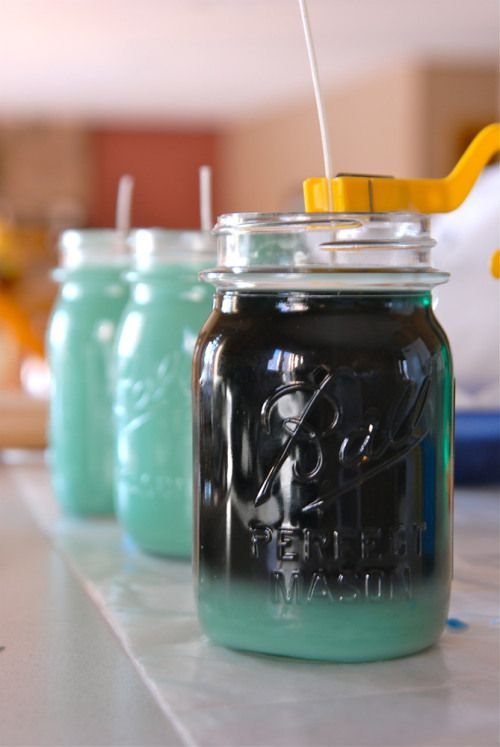 make your own candles // homemade candles