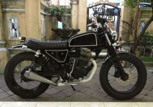 Honda Tiger 2000 Modification Japstyle | XpatBali