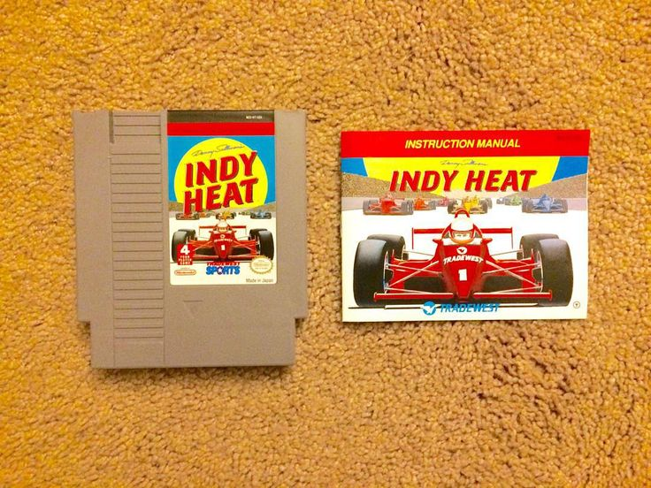 By brianbardsleyphotos: Found a super cool game today with manual. Danny Sullivan's Indy Heat. Shout out to Pat The NES Punk. @patthenespunk More additions this evening... 155 carts and counting. #NES #nesfreak #nescollector #nintendo #ninstagram #vintage #vintagegaming #retro #games #retrogamer #retrogaming #retroconsoles #collecting #collect #classicgames #classic #carts #dannysullivansindyheat #dannysullivan #indyheat #indy #heat #patthenespunk #retrogaming #microhobbit