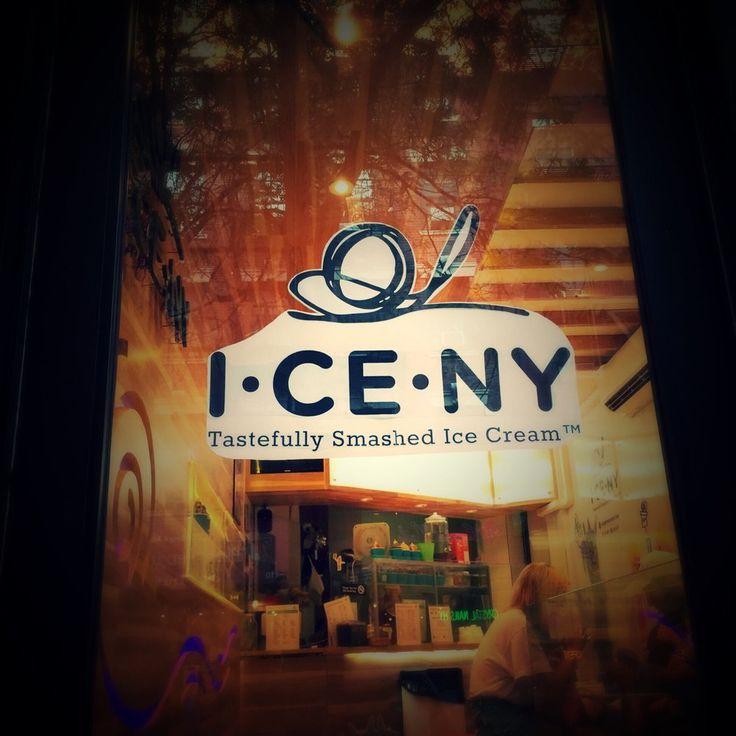 I CE NY - New York, NY, United States. I CE NY Tastefully Smashed Ice Cream Shop