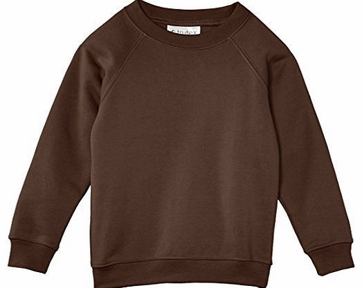 Trutex Limited Unisex Crew Neck Plain Sweatshirt, Brown, 9-10 Years (Manufacturer Size: 25-27`` Chest) No description (Barcode EAN = 5051080391187). http://www.comparestoreprices.co.uk/boys-clothing/trutex-limited-unisex-crew-neck-plain-sweatshirt-brown-9-10-years-manufacturer-size-25-27-chest-.asp