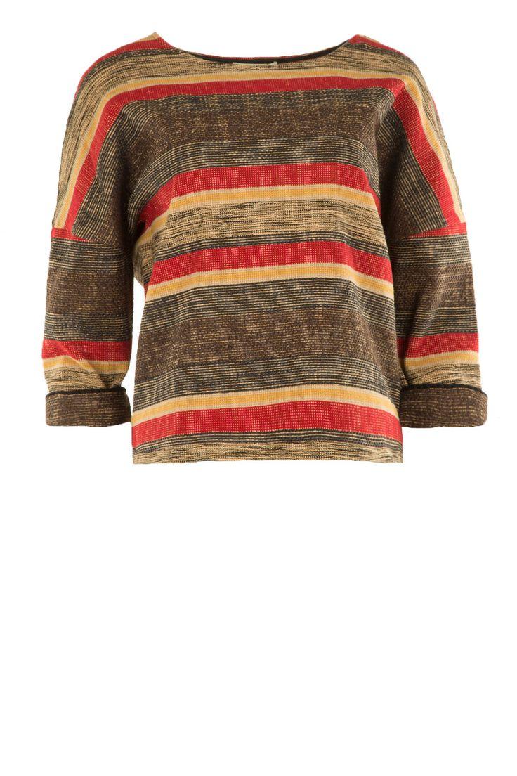 Striped top Machu | multi from Sessun seen on www.littlesoho.com