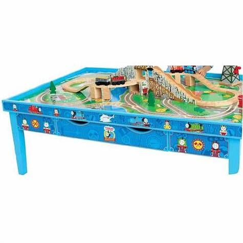 Cute Thomas the Train table on sale @ToysRUs  sc 1 st  Pinterest & 14 best Thomas the Train Table set up images on Pinterest | Thomas ...
