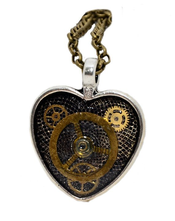 Steampunk / Timelord inspired Heart shaped by thelongwayround