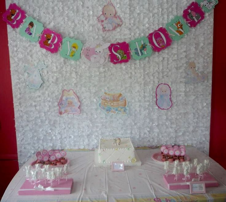 Precious Moments Baby Shower Cakes: 82 Best Images About Girl Baby Shower With Precious