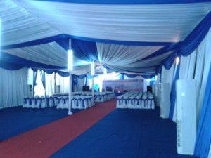 Sewa Tenda Event Ulang Tahun PT.JAMKRINDO ( Kemayoran Jakarta Pusat ) | Amira Tent