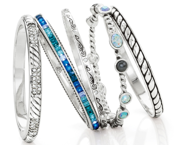Bangles! I have the Monte Carlo in three colors; I love the magnetic clasps and the size.