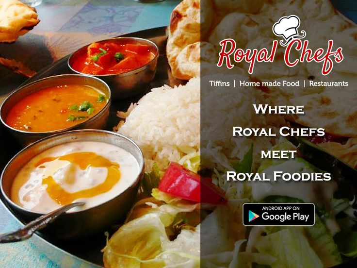 ‪#‎RoyalChef‬ : Where Royal Foodie Meets Royal Chefs  ‪#‎newapp‬ ‪#‎Food‬ ‪#‎homedelivery‬ ‪#‎delhi‬ ‪#‎delhiNCR‬ ‪#‎Gurgaon‬ ‪#‎pune‬ Download The App Now https://goo.gl/7zgs0I