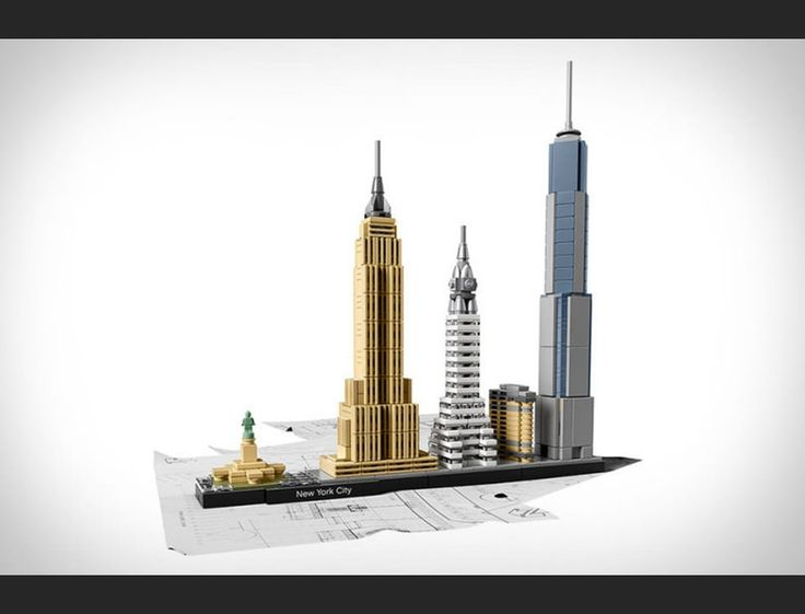 LEGO's Architecture brand recently unveiled 'Skyline', a series that not only lets you build iconic buildings and monuments, but also lets you complete the