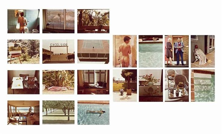 Twenty photographs, David Hockney