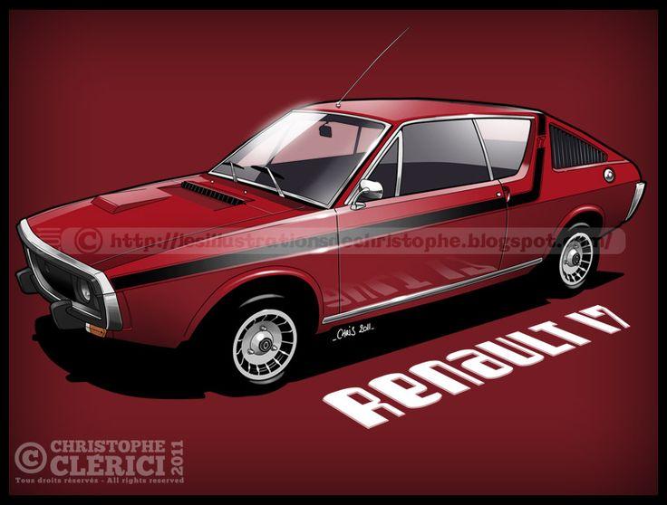 Les illustrations de christophe: Renault 17