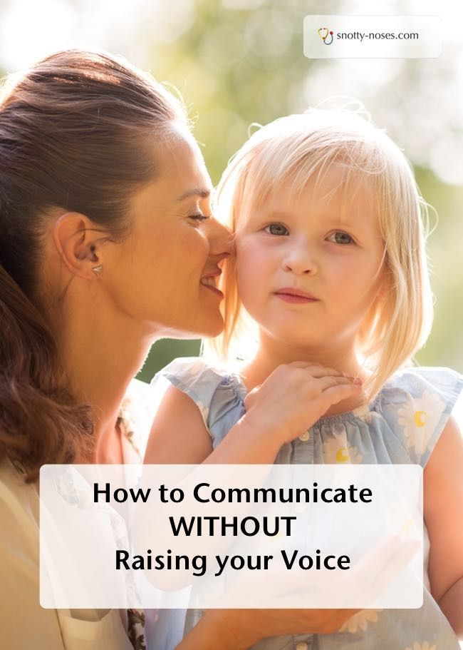 How to Communicate Without Shouting. A really easy trick that works so well.