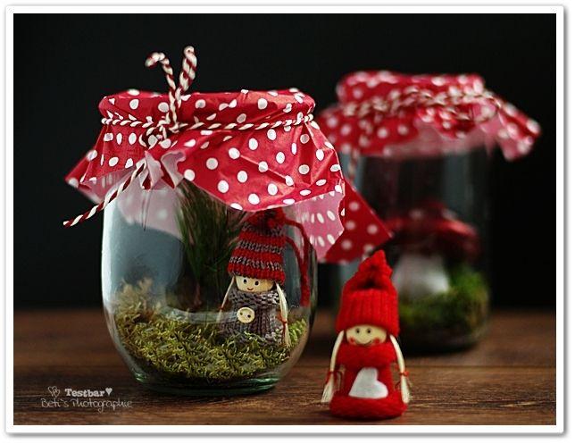 Diy christmas weihnachten dekoration basteln gl ser for Dekoration wohnung weihnachten