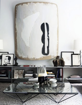 david prince #black #white: Interior Design, Coffee Tables, Living Rooms, Design Ideas, Livingroom, Art, Black White, David Prince