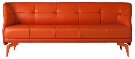 Contemporary leather sofa - LEEON by Ludovica & R.Palomba - ArchiExpo