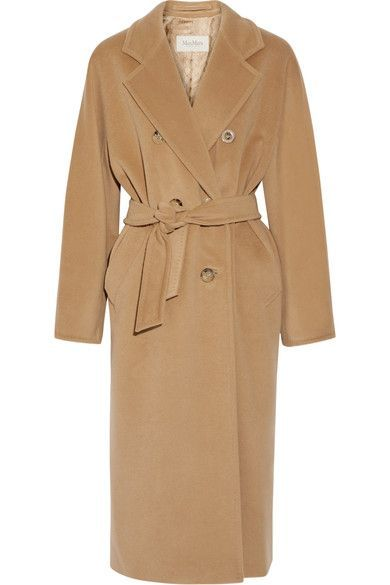 Max Mara - Madame 101801 Wool And Cashmere-blend Coat - Camel - UK1