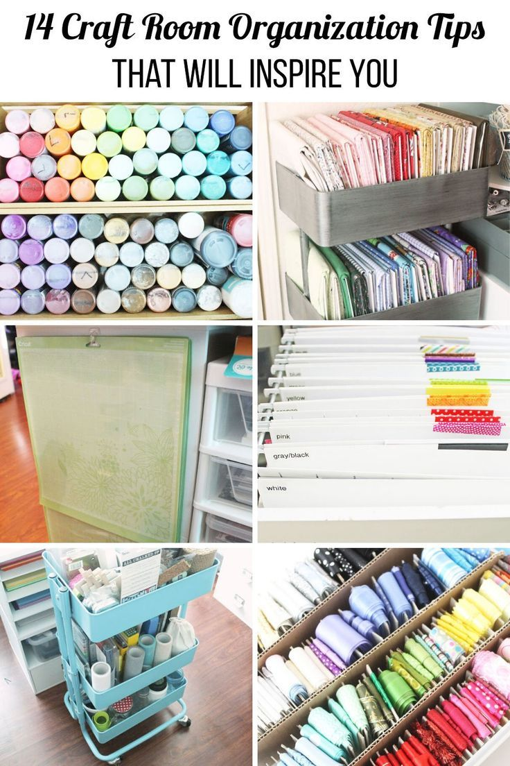 14 Craft Room Organization Tips That Will Inspire You In 2020 Craft Room Organization Craft Room Organize Fabric