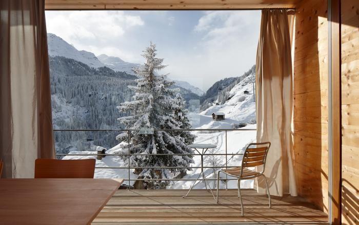 Architect Peter Zumthor's Oberhus and Unterhus in Vals Switzerland