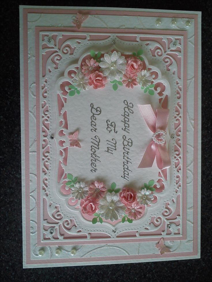 Card Made With Spellbinders Dies Card Ideas Cards