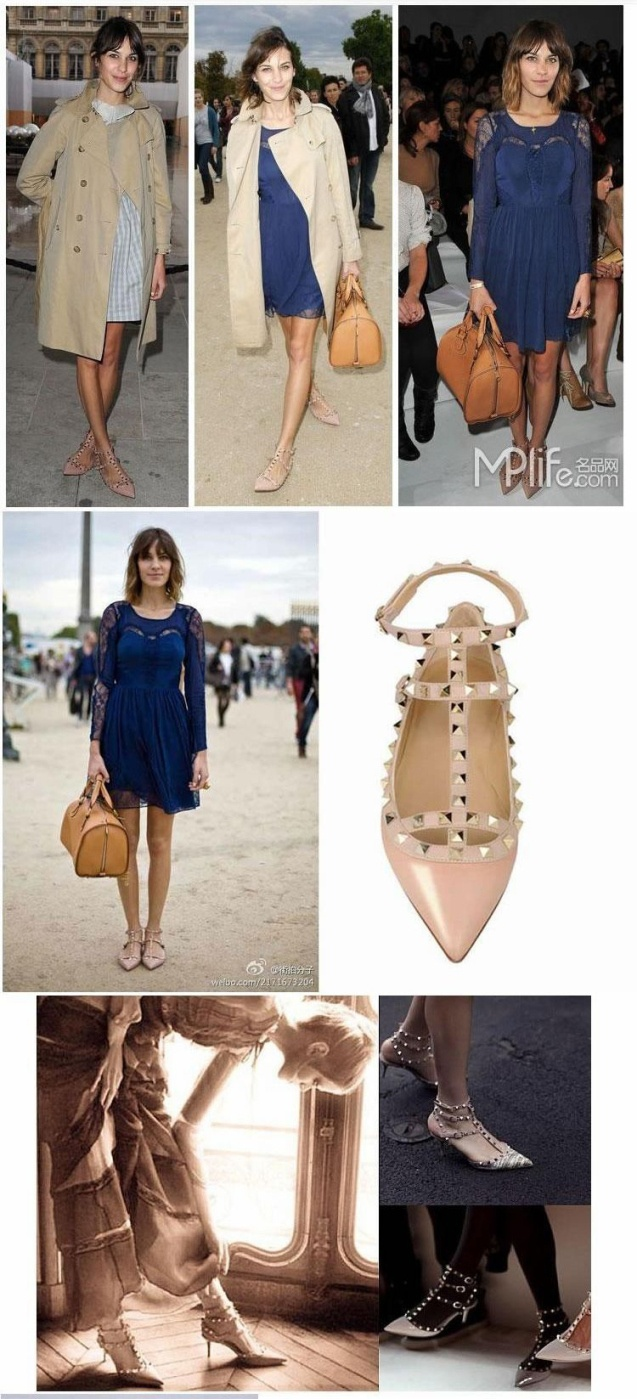 valentino studded shoes- Just got a pair of look a-likes!!! So excited