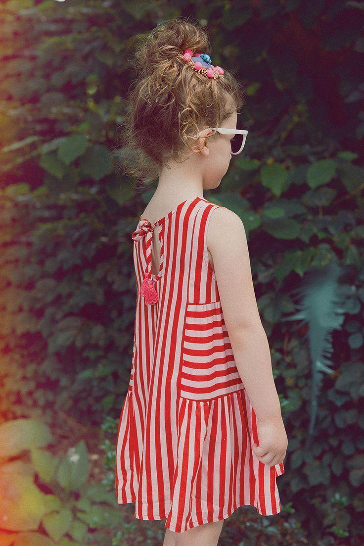 Red dress toddler 5 panel