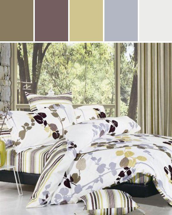 North Home Bedding Vintage DC QN Size Duvet Cover Set Designed By ATGStores.com a Lowe's Company via Stylyze #colourpalettesilove