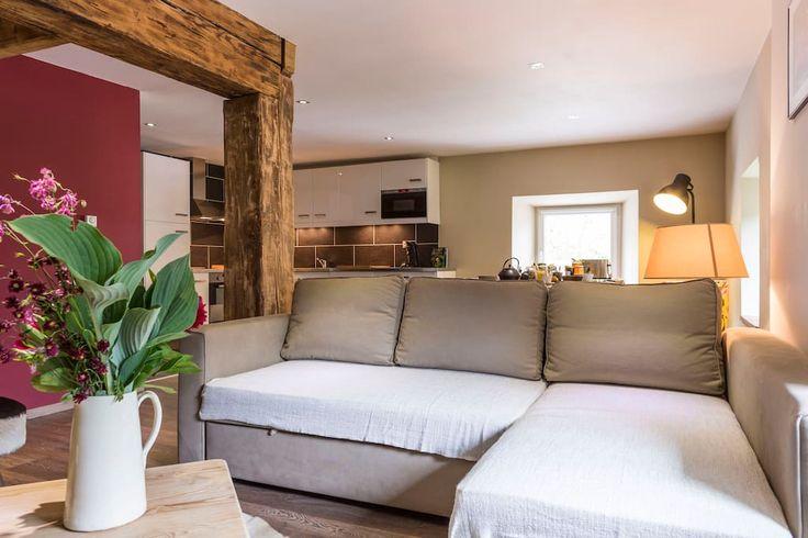 Regardez ce logement incroyable sur Airbnb : La Fermette La Bresse 4-8 personnes - Maisons à louer à La Bresse: la fermette la bresse