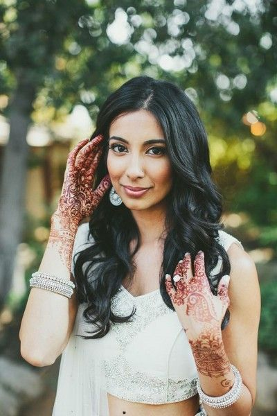 24 best South Asian Bridal Hair & Makeup images on Pinterest | Asian ...