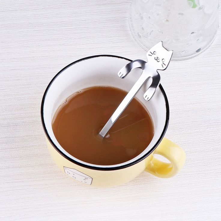 Powstro 3PCS Coffee Spoon Cat Design Category: Coffee Scoops Tag: Powstro 3PCS Coffee Spoon Cat Design
