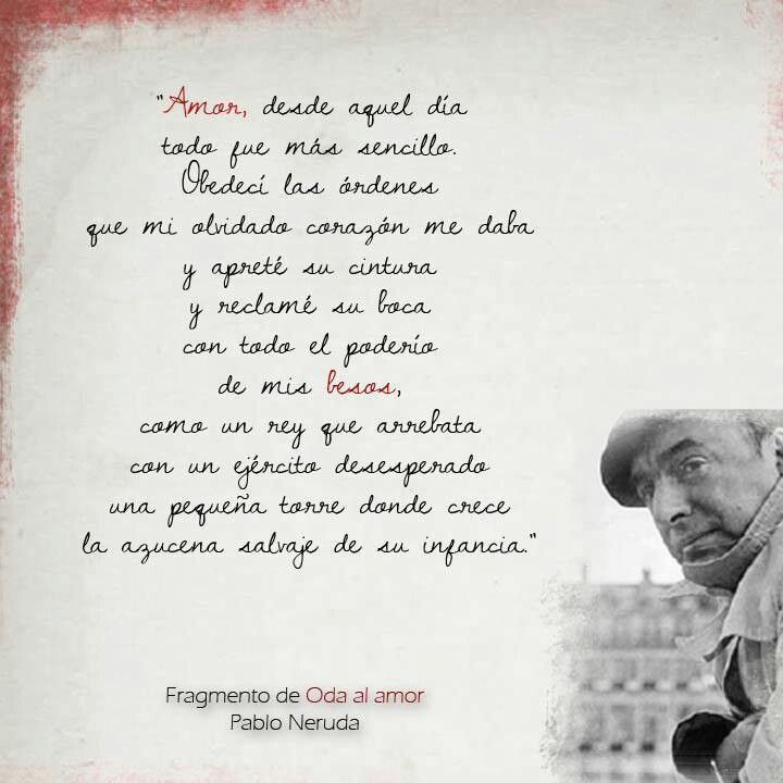 an analysis of sweetness always by pablo neruda Pablo neruda is from chile and gives a voice to latin america in his poetry (bleiker 1129) the united fruit co, the poem by pablo neruda that will be analyzed in this essay, is enriched with symbolism, metaphors, and allusions.