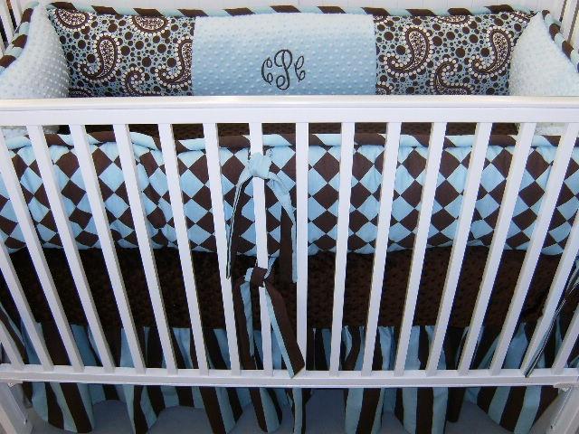 nursery for boyPaisley Print
